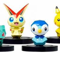 Once scanned, these NFC Pokemon toys will reveal themselves as in-game characters for 'Pokemon Scramble U.'