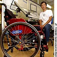 Wheelchair designer hopes to get more users on the streets