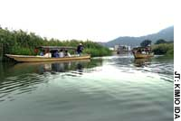 Boatmen boast of Biwa's bounty