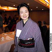 Mineko Iwasaki, celebrated as the most successful geisha of her generation, spoke recently in Tokyo about her memoir 'Geisha, A Life.'