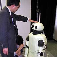 Kansai robots on march amid Astro Boy hoopla
