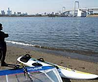 Odaiba beach not even safe for sewer rats to dip in