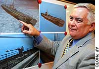 American to salvage Japanese sub full of gold, opium sunk in Atlantic in '44