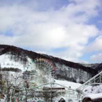 The adventure family amusement park sits empty after closing its doors amid Yubari's financial collapse.