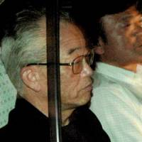 Former Miyazaki Gov. Tadahiro Ando, arrested and charged in December with bid-rigging, is released on bail last month. | KYODO PHOTO