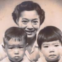 Yukika Sohma and two of her four children are shown in this undated photo taken before her departure for Manchuria in 1943. | PHOTO COURTESY OF YUKIKA SOHMA