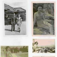 Halcyon days: These photos show how Elizabeth Ryan, who worked in Kobe at the U.S. base of the Occupation force, spent some of her holidays during her stay in Japan from February 1947 to July 1948. | COURTESY OF KEN ALLEY