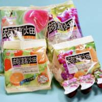 End of the line: MannanLife Co.'s Konnyaku Batake jelly products are set to disappear from store shelves as the company halted production and shipments after a number of people chocked to death on the jelly. | KYODO PHOTO