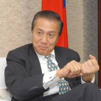 Diplomacy: John Feng, chief of the Taiwan Economic Cultural Representative Office, speaks during an interview at his office Friday in Minato Ward, Tokyo. | YOSHIAKI MIURA PHOTO