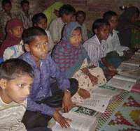 'Terakoya' schools' literacy drive in 20th year