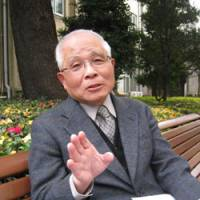 Crusader: Professor emeritus Tsuyoshi Amemiya is interviewed by The Japan Times in December on the campus of Aoyama Gakuin University in Tokyo, where he used to teach. | SETSUKO KAMIYA