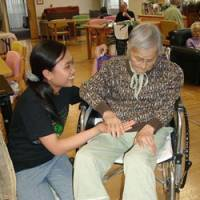 Indonesian caregivers working to adapt