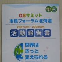 NGOs report efforts to motivate G8 in Hokkaido