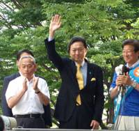 Shizuoka race lights up national landscape
