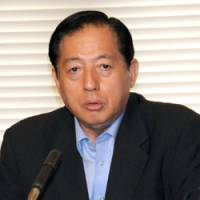 New Komeito chief slams DPJ policies, rules out alliance