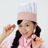 Idolized: 'Nendoru' (clay) idol Hitomi Okada holds miniature food made of clay; 'tetsudo' (train) idol Momo Ito poses on a station platform and 'rekishi' (history) idol Eri Komukai dresses in a kimono for 'cosplay.' | KYODO PHOTO