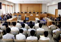 Trial by peers: A Yamaguchi District Court lay judge trial is set to proceed Wednesday. | KYODO PHOTO