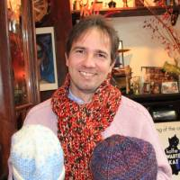 German promotes knitting to keep Tohoku disaster victims active, close