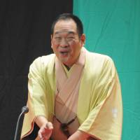 Storyteller broadens appeal of 'rakugo'