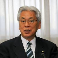 Case closed?: New Justice Minister Toshio Ogawa is interviewed Jan. 23 at the ministry. | SATOKO KAWASAKI