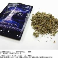 Bag of surprises: This package of herbs mixed with chemical stimulants was recently bought by a Tokyo Metropolitan Government official in Shibuya Ward. The contents contained components designated as illegal. | KYODO