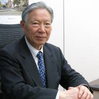 Question of safety: Japan Nuclear Safety Institute Chairman Shojiro Matsuura fields questions during an interview at his office in Minato Ward, Tokyo, on March 1. | KAZUAKI NAGATA