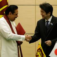 Japan, Sri Lanka agree to boost maritime security cooperation