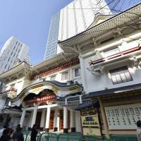 Ginza stage set for Kabukiza's fifth coming