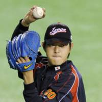 Chance to shine: Tohoku Rakuten pitcher Hisashi Iwakuma is set to start for Japan against South Korea on Monday. | KYODO PHOTO