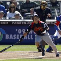 New post: Norichika Aoki is playing out of position in left field to help Japan try and retain its WBC title. | AP PHOTO
