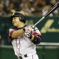 Welcome back: Second baseman Tadahito Iguchi returns to Japan this season as a member of the Chiba Lotte Marines after four years in the major leagues.