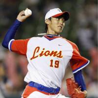 Stellar outing: Saitama Seibu hurler Masamitsu Hirano tossed a three-hit shutout on Thursday against Hokkaido Nippon Ham.