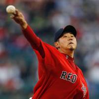 Everything's OK: The Red Sox expect pitcher Daisuke Matsuzaka to be ready to make his next scheduled start. | KYODO