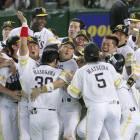 Hawks sweep Lions, reach Japan Series