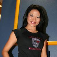 Backing the Bucs: Tomoko Kojima has spent six years as a cheerleader for the Tampa Bay Buccaneers. | KAZ NAGATSUKA PHOTO