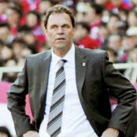 Holger Osieck was fired by Urawa Reds on Sunday after the Asian champions stumbled to an 0-2 start to open the J. League season. | KYODO PHOTO
