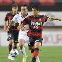 Leader of the pack: Kashima Antlers captain Mitsuo Ogasawara has been named J. League player of the year. | KYODO PHOTO