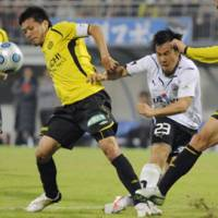 No problem: Kashiwa Reysol were relegated from the J. League first division in 2009 but bounced straight back. | KYODO PHOTO