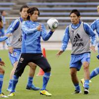 Bayern-bound: Takashi Usami (with ball) looks set to leave Gamba Osaka for German giant Bayern Munich. | KYODO PHOTO