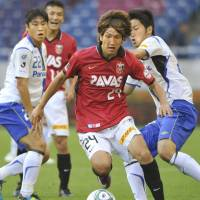 Man with a plan: Urawa Reds midfielder Genki Haraguchi wants to make the national team before considering a move to Europe like other Japanese players. | KYODO