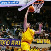 NICK DeWITZ leads the Sendai 89ers in scoring with 22.5 points per game this season. | ©SENDAI 89ERS / BJ-LEAGUE PHOTO