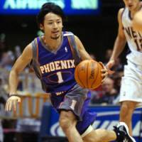 Rising Sun: Yuta Tabuse launches an attack for the Phoenix Suns against the New Jersey Nets in November 2004. | AP PHOTO
