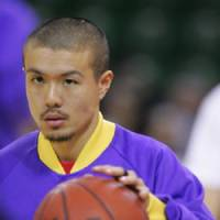 Money man: Tokyo Apache guard Cohey Aoki made several clutch free throws down the stretch in Sunday's win over the Rykuku Golden Kings. | KAZ NAGATSUKA