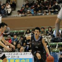 Attack mode: Veteran swingman Kyosuke Setoyama gives the Kyoto Hannaryz stability and leadership in the backcourt. | KYOTO HANNARYZ / BJ-LEAGUE