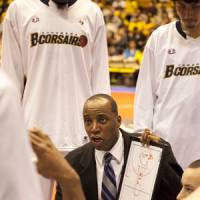 Special recognition: Yokohama B-Corsairs bench boss Reggie Geary is the bj-league's Coach of the Year. | DOMINIKA FITZGERALD
