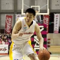 Change of venue: Takuya Komoda and the Sendai 89ers will begin play at Xebio Arena next season, giving the team a new base for home games in the city. | DOMINIKA FITZGERALD