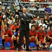 Back to square one: Coach Eric Gardow guided the expansion Chiba Jets to an 18-34 record in 2011-12. His one-season tenure with the club is now over. | YOSHIAKI MIURA