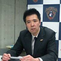 Short stint: Toyama Grouses coach Kazuaki Shimoji will not return for a second season due to health issues. | ED ODEVEN