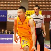 On the move: Guard Kenichi Takahashi, seen with the Sendai 89ers last season, has joined the Iwate Big Bulls. | DOMINIKA FITZGERALD