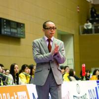 End of a brief era: Ryuji Kawai's tenure as the Hamamatsu Higashimikawa Phoenix coach lasted 90 regular-season games and a runnerup finish in last season's final. | DOMINIKA FITZGERALD
